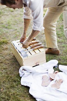 custom hatchets for groomsmen gifts   Courtney Bowlden Photography   Glamour & Grace