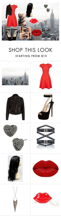"""""""Untitled #53"""" by jayden-haynes ❤ liked on Polyvore featuring Armani Collezioni, New Look, Prada, Betsey Johnson, Eva Fehren, Winky Lux, Jules Smith and WithChic"""