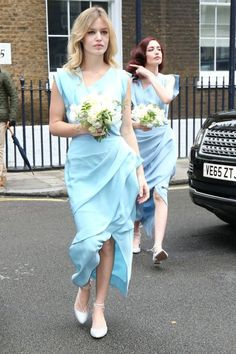 Georgia May and Elizabeth Jagger are bridesmaids at Rupert Murdoch and Jerry Hall's wedding