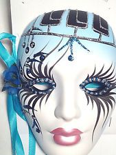 mardi gras porcelain masks - Google Search