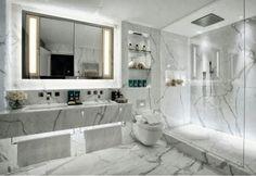Marmurowa łazienka...