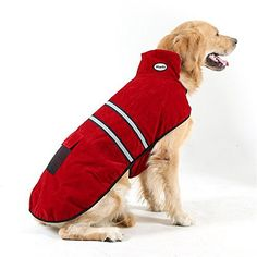 Hiado Dog Pets Winter Coat Vest Dressing with Reflective Belt for Hiking and Hunting in Cold Weather (Large, Big, 20 Inches Back Size) - http://www.thepuppy.org/hiado-dog-pets-winter-coat-vest-dressing-with-reflective-belt-for-hiking-and-hunting-in-cold-weather-large-big-20-inches-back-size/