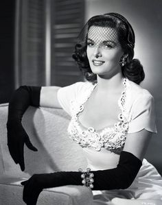 here the incredibly stunning Jane Russell #1950s #actress #Hollywood