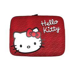 "Hello Kitty 9-11"" Laptop Sleeve- Red"