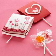 dulces con tarjetas para el dia de san valentin - Buscar con Google