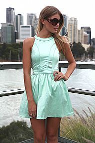 MINT DRESS $65  #xenia #xeniaboutique #fashion