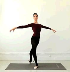Learn how to do a standing stretch with Ballet Beautifuls Mary Helen Bowers. Mary Helen Bowers, Fitness Diet, Fitness Motivation, Health Fitness, Fitness Quotes, Natalie Portman, Ballet Stretches, Body Stretches, Ballet Body