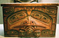 Haida bentwood chest | Museum of Anthropology, Vancouver