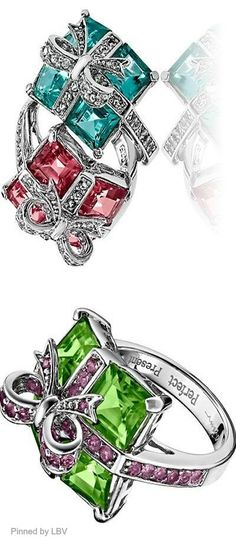 Gift cocktail rings | LBV ♥✤ | BeStayBeautiful