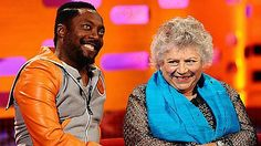Will.i.am and Miriam Margolyes on The Graham Norton Show. One of Graham's best shows.