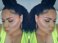 """BH Cosmetics """"take me to brazil"""" palette. """"blood moon""""  look"""