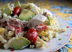 This Delicious Chicken Salad is Transformed with the Addition of Pasta!