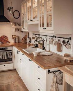 Kitchen Room Design, Home Decor Kitchen, Kitchen Interior, Home Kitchens, Farmhouse Kitchens, Farmhouse Homes, Farmhouse Style, Cuisines Design, Home Decor Inspiration