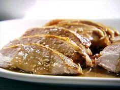 Herb Oil-Roasted Turkey Breast Video : Food Network - FoodNetwork.com