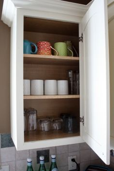 IHeart Organizing: Kitchen Cabinet Tour - How to organize your kitchen