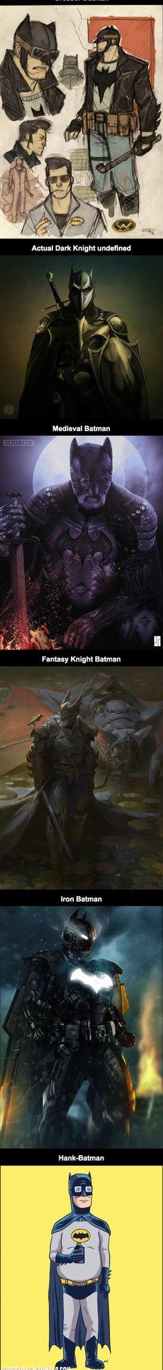 Awesome Alternate Fan Art Takes On Batman - The Meta Picture