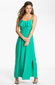 Soprano 'Milla' Ruffle Maxi Dress (Juniors) | Nordstrom