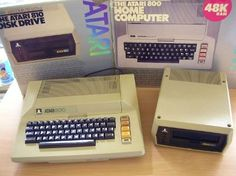 Atari 800 Home Computer with 810 Disk Drive