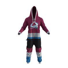 Colorado Avalanche NHL Onesie - Hockey Sockey