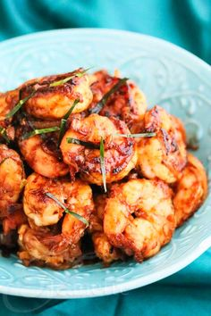 Shrimp with Thai Chili Paste by @Jeanette | Jeanette's Healthy Living #ShrimpShowdown