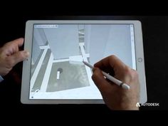 Watch Architect Render Dinner Theater Illustration on iPad Pro using Procreate and the Apple Pencil - YouTube