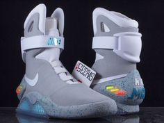 Nike Air Mag 2011 Size 8 DS BACK TO THE FUTURE! Extremely RARE! McFly Yeezy NEW #Nike #AthleticSneakers