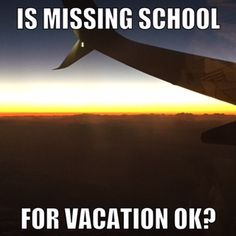 "I just came home from vacation with 4 children under 9.  When we left for vacation I was reminded that school districts look poorly on unexcused absences.  My answer was, ""My children lea…"