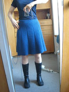Carnaby skirt (WIP) by KarenP, via Flickr