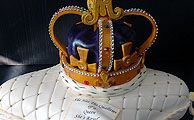 Crown Jewels (she's royal) Bespoke Novelty Cake from £240
