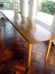 For Sale: Rare French Dining Table (Long, Narrow, Curiously Modern)    Improvised Life