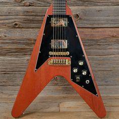 Gibson Flying V Worn Cherry 2002 (s318)