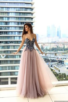 Princess Prom Dresses, Delicate Illusion Round Neck Blush Prom Dress with Appliques Beading, Plus Size Formal Dresses and Plus Size Party Dresses are great for your next special Occassion at cheap affordable prices The Dress Outlet. Sparkly Prom Dresses, Blush Prom Dress, Unique Prom Dresses, Tulle Prom Dress, Elegant Dresses, Pretty Dresses, Dress Up, Formal Dresses, Dresses Dresses