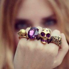Skull ring ||$12.00 @ http://www.amazon.com/Multicolor-Nordic-Skull-Patterned-Leggings/dp/B00B05FHR0/ref=aag_m_pw_dp?ie=UTF8=A3AIH8JLEUWB12