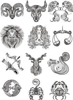 nanaswall - 0 results for tattoo ideas female Astrology Tattoo, Horoscope Tattoos, Zodiac Sign Tattoos, Tattoo Signs, Zodiac Art, Zodiac Signs, Astrology Signs, Simbols Tattoo, Tattoos For Guys