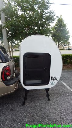 Camping POD by 30 Seconds To Camp - on my wish list. More or less useful than a rooftop tent?
