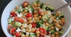 Avocado Chickpea Salad with Chili Lime Dressing Recipe by Tasty Chili Lime Dressing Recipe, Vegetarian Recipes, Healthy Recipes, Healthy Drinks, Yummy Food, Tasty, How To Cook Quinoa, Summer Salads, Food Inspiration