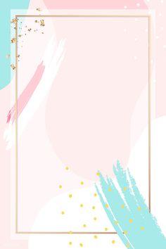 Framed Wallpaper, Flower Background Wallpaper, Cute Wallpaper Backgrounds, Flower Backgrounds, Cute Wallpapers, Backgrounds Free, Poster Background Design, Powerpoint Background Design, Vector Background