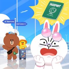 Cony Brown, Brown Bear, Cute Couple Cartoon, Cartoon Pics, The Old Astronomer, Line Cony, Melody Hello Kitty, Kakao Friends, Brown Line