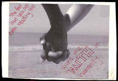 faith in humanity #postsecret