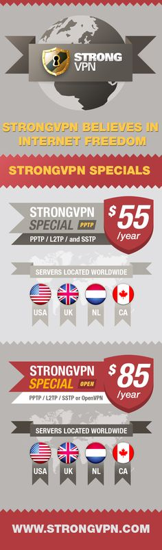 StrongVPN Special Packages