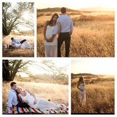 My Maternity photos with my husband