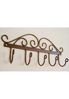 Wood And Metal, Metal Art, Blacksmithing Beginners, Victorian Coat, Hat Hanger, Wrought Iron Decor, Blacksmith Shop, Iron Art, Steel Furniture