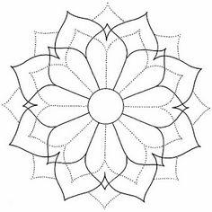 El Baúl de Moldes: Mandalas 1
