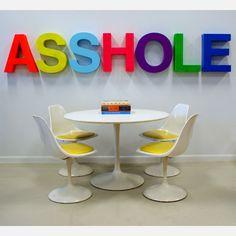 Fab - Kristen & Nick - Sign Letters Asshole