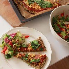 Vláčna tofu omeleta plná zeleniny - rebarbora.blog Tofu, Vegetable Pizza, Ale, Tacos, Mexican, Vegetables, Ethnic Recipes, Veggies, Ales