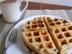 Vegan Heartland: Classic Belgian Waffles - Low Fat & Refined Sugar Free!