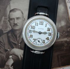 Men's 1918 Cyma/Tavannes Wire Lug Trench Watch | Strickland Vintage Watches