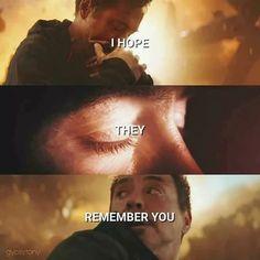 """""""I hope they remember you"""" - Thanos  #infinitywar #avengers #avengersinfinitywar #thorragnarok #marvel #ironman #captainamerica"""