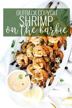 Easy Barbecue Shrimp Grilled Shrimp Recipe Healthy Seafood Recipes Summer Grilling Recipes Shrimp Skewer Recipes Oh So Delicioso Skewer Recipes, Fish Recipes, Seafood Recipes, Cooking Recipes, Healthy Recipes, Seafood Pasta, Grill Recipes, Appetizer Recipes, Appetizers