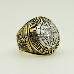 1966 Green Bay Packers Super Bowl I Championship Ring. Best gift for Packers fans. from www.championshipringclub.com